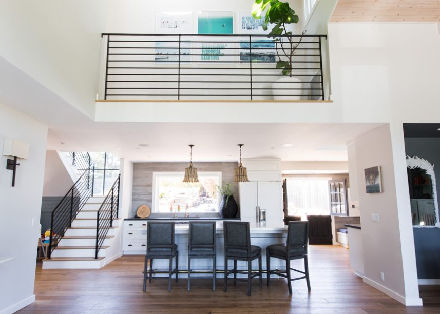 Mill Valley Rustic Glam Kitchen